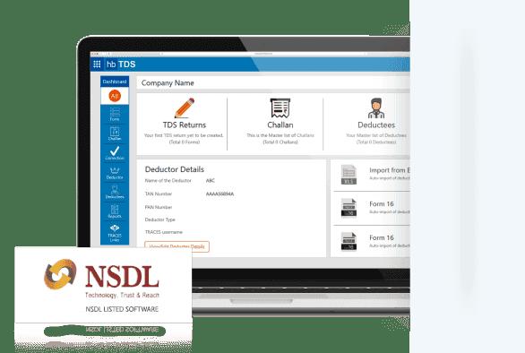 Tds Software India Etds Return Filing Tds Application