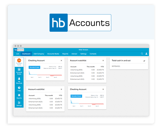HostBooks Accounting Software