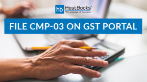 file CMP-03 on GST portal
