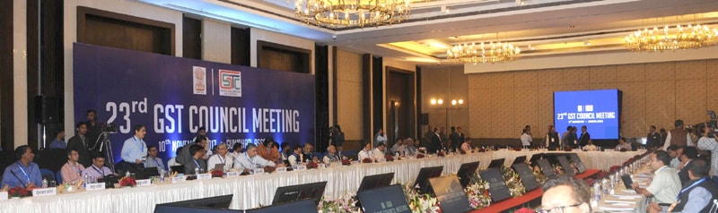 23rd gst council meeting