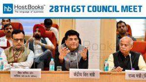 28th gst council meet