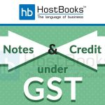 GST Debit Notes Credit Notes