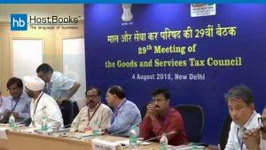 29th gst council meeting