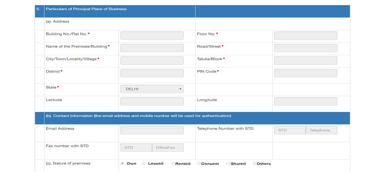 gst registration for transporters