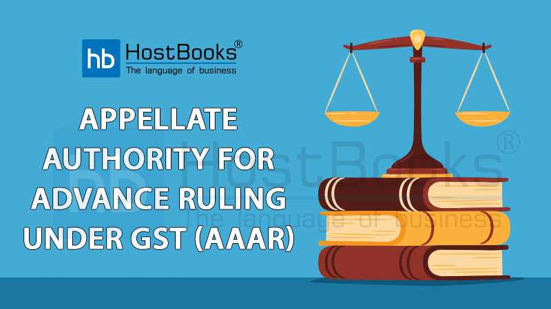 Appellate Authority for Advance Ruling