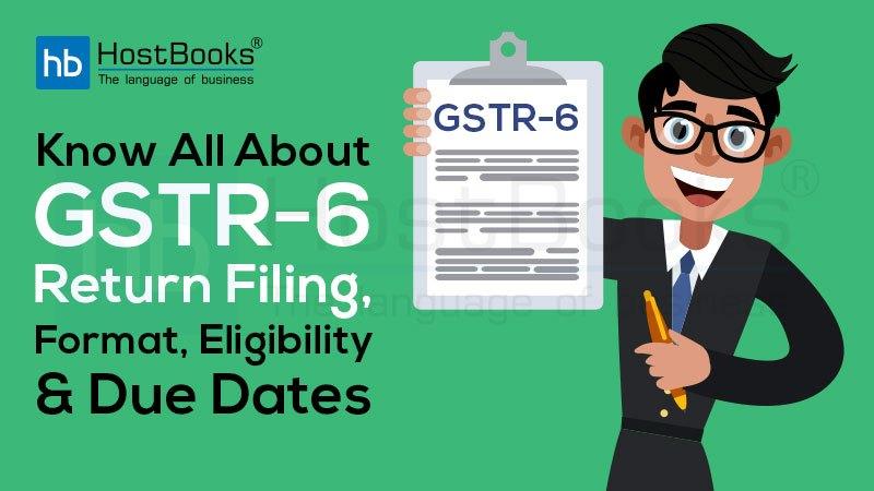 GSTR-6 Return Filing