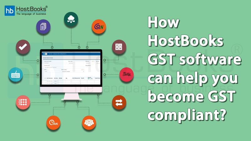 HostBooks GST Software