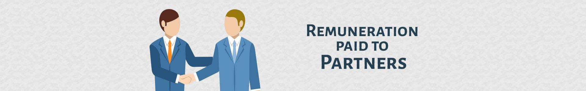 remuneration to partner