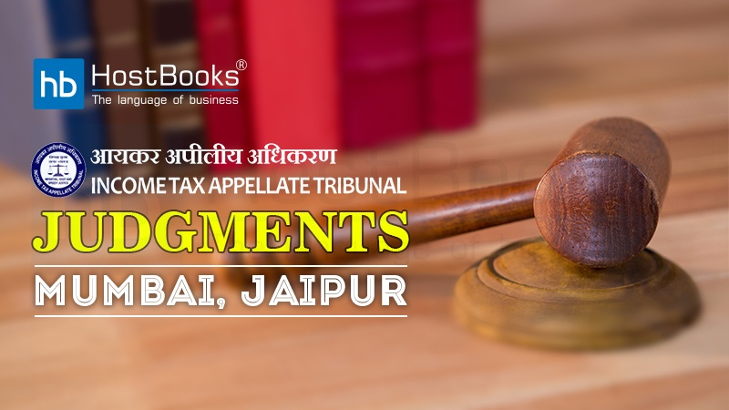 Income Tax Appellate Tribunal Judgments