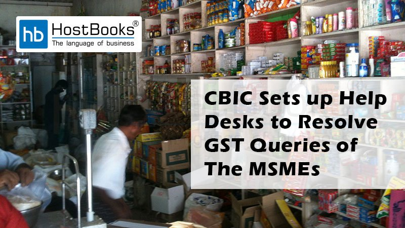 Resolve GST Queries of the MSMEs