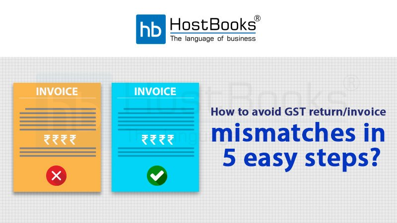 GST invoice mismatches