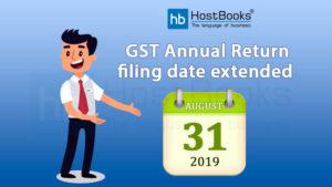 GST Annul Return Date