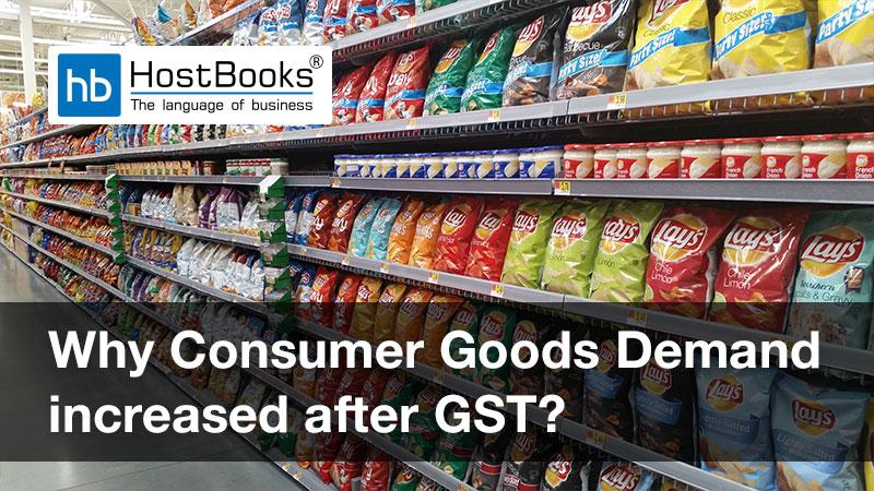 Goods demand after GST