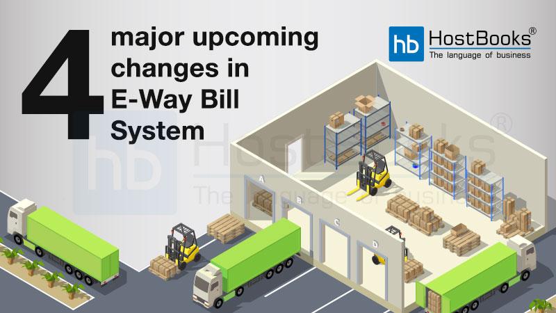 e way bill changes