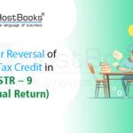 Input Tax Credit in GSTR-9