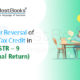 Input Tax Credit in GSTR-9
