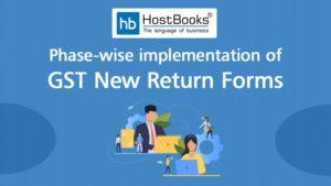 GST Returns new form