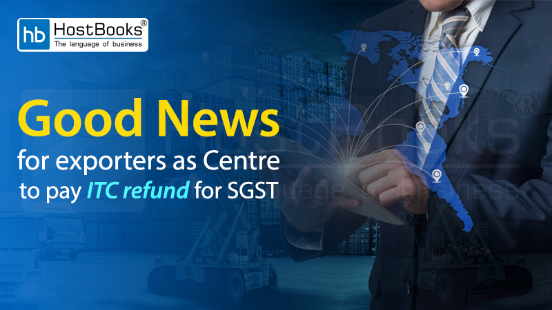 ITC Refund SGST