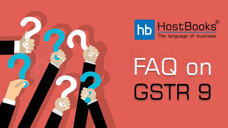 FAQ-on-GSTR-9