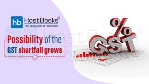 GST Shortfall Grows