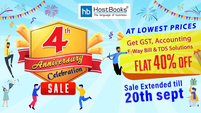 HostBooks Anniversary Sale offers