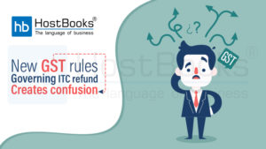 New GST Rules ITC refund