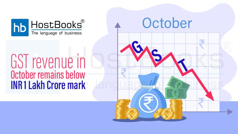GST Revenue October
