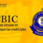 new GST input tax credit rules