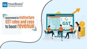 Restructure GST Rates