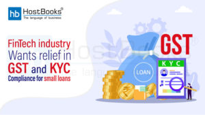 GST and KYC compliance