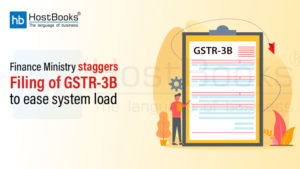 Filing of GSTR 3B
