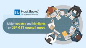 39th gst council meet