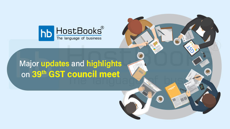39th gst council meet