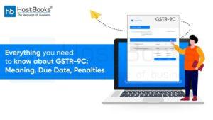 Annual return GSTR-9C