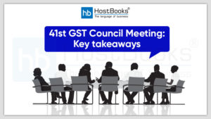 41th GST council Meeting