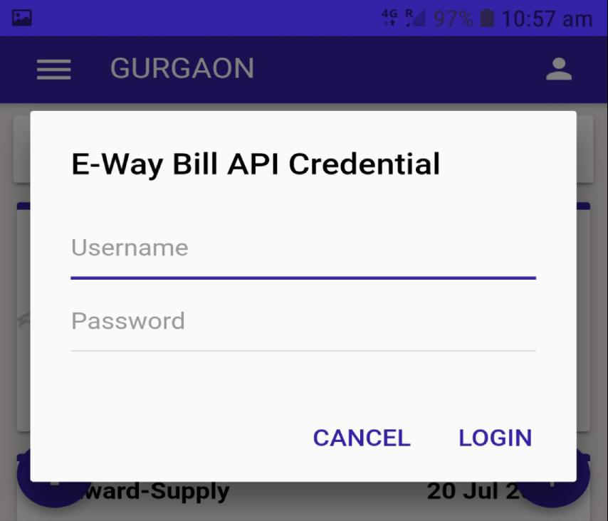 E-Way Bill Mobile