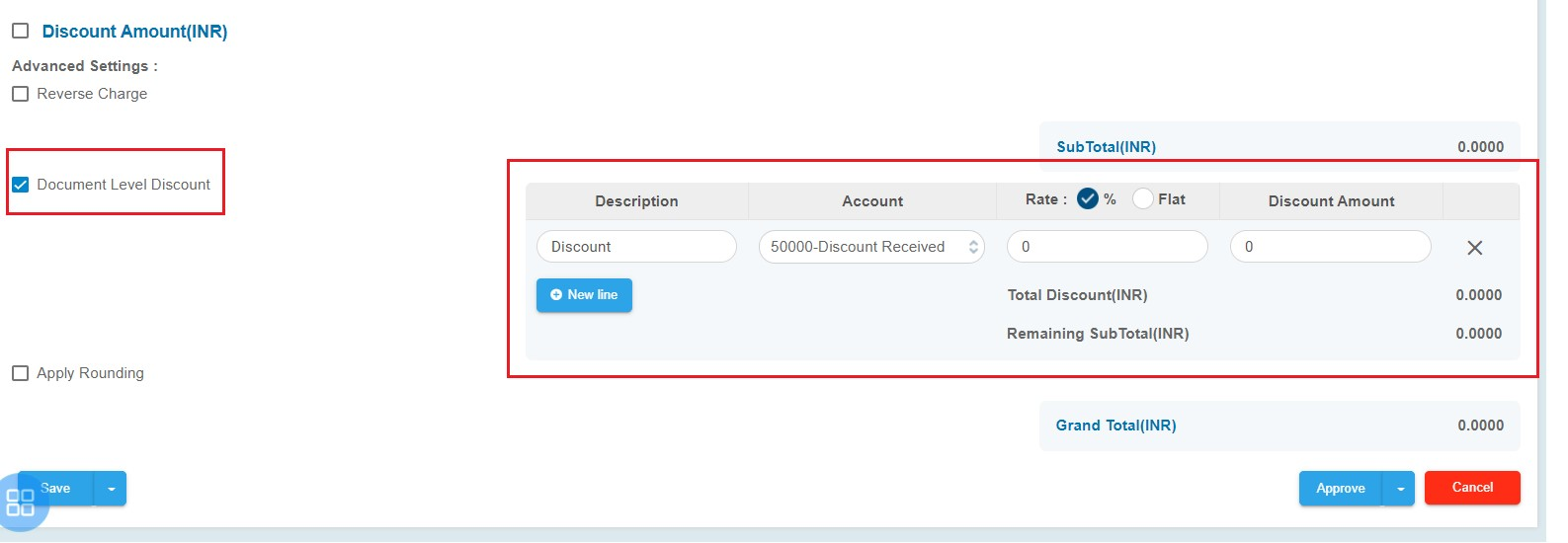 document-level-discount-feature