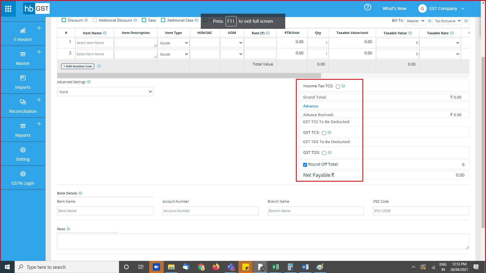 tds-and-tcs-add-in-invoice-level-and-report-two