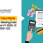 ITR Filing for FY 2020-21