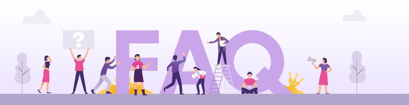 FAQ's Banner